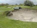 Fairway bunker 1 before renovation