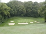 11th Greenside bunkers completed