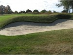Greenside bunker 2 after renovation