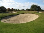 Fairway bunker 1 after renovation