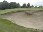 Greenside bunker 2 before renovation